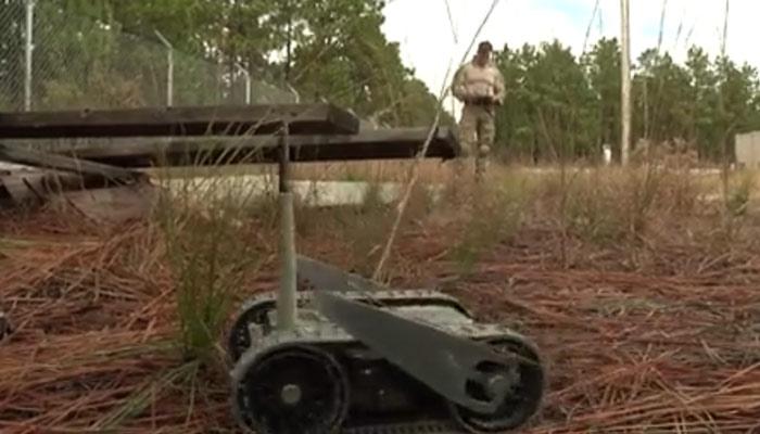 Explosive Ordnance Disposal Unmanned System