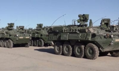 M1135 Stryker (NBCRV) Rollout at Camp Grayling