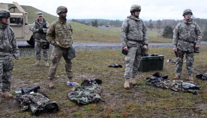554th Military Police Company CBRN Training at Grafenwoehr