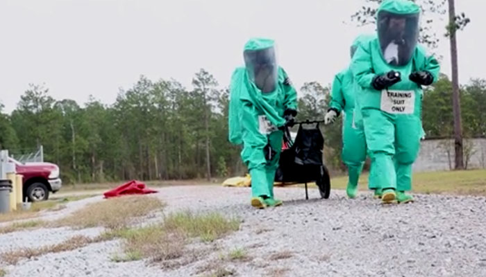 CBRNE Consequence Management Training at Fort Shelby