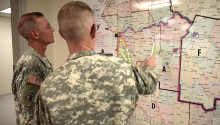 CBRNE Exercise Map Missouri National Guard