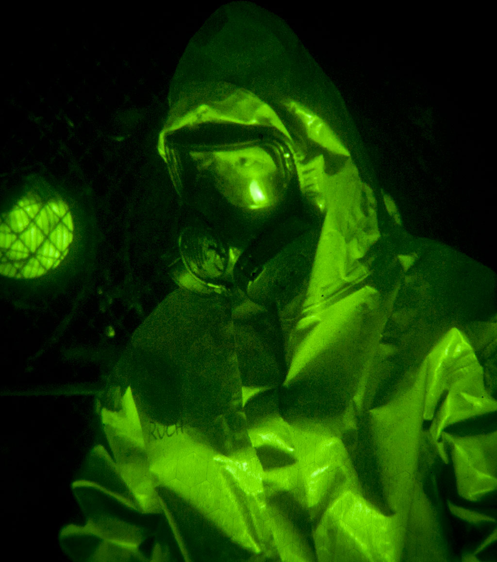 National Guard Chemical Detection Training