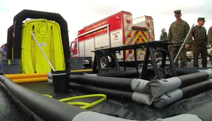 CBRN Disaster Management Decon Area