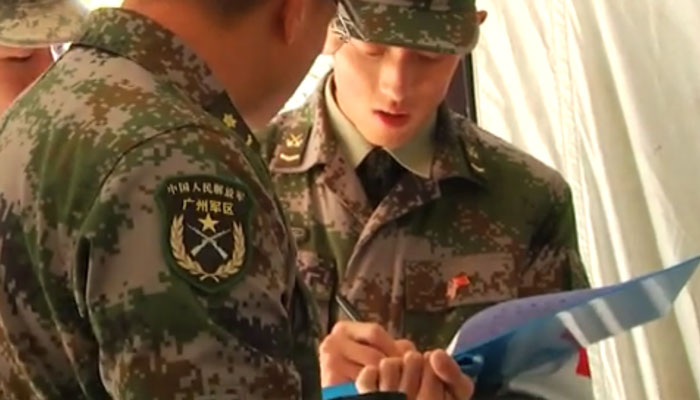 Chinese Soldiers Train with U.S. Army at JBLM