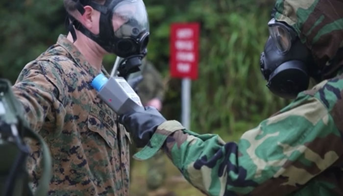 EOD and CBRN Joint Training in Okinawa