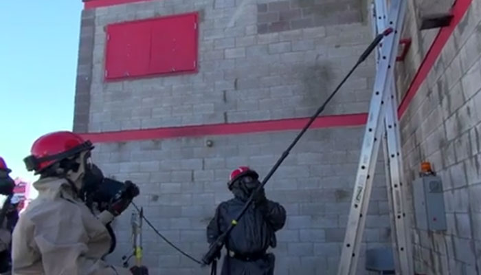 Firefighters Conduct SAR Training in Radiological Environment