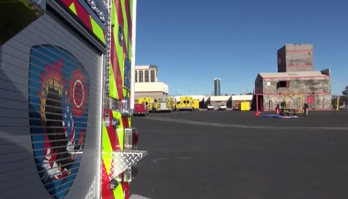Firefighters Conduct Nuclear Event Search and Rescue Training