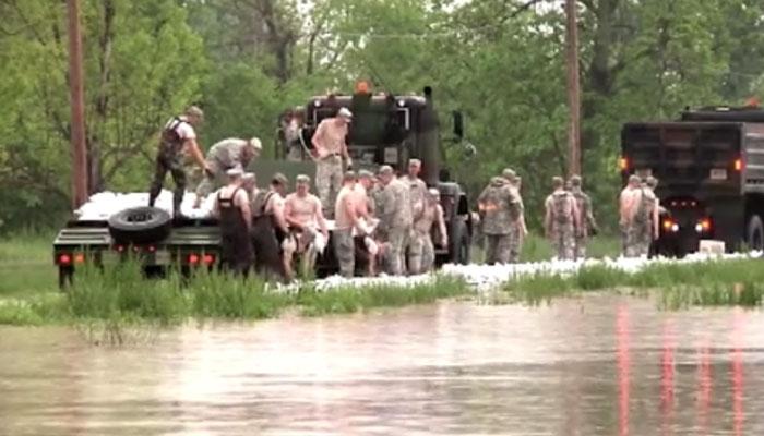 Missouri Army Reserves Disaster Response