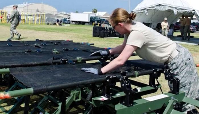 Missouri Army-Civil Disaster Response Exercise