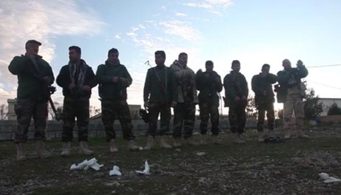 Peshmerga Forces Train for CBRN Threats
