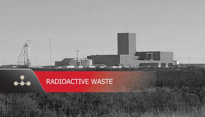 Waste Isolation Pilot Plant for Radiological Waste
