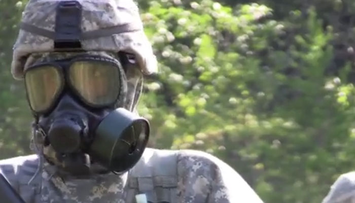CBRN Soldiers Conduct Recce at Annual Red Dragon Exercise