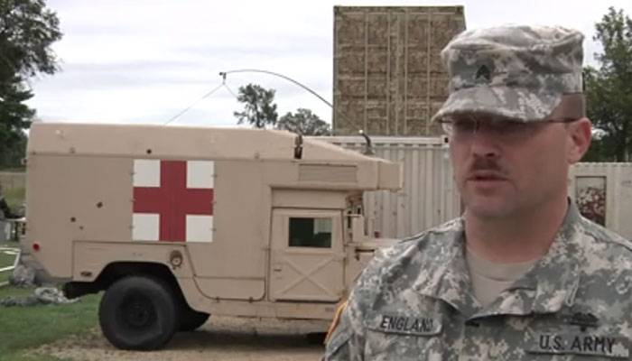 Red Dragon Exercise at Fort McCoy