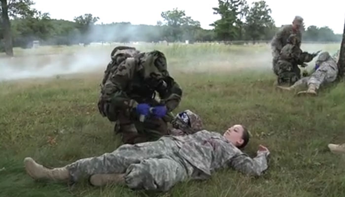 Mass Casualty CBRN Exercise