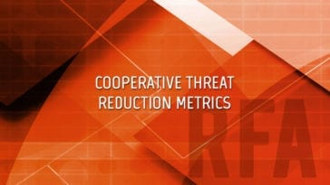 Cooperative Threat Reduction Metrics