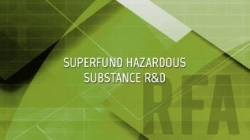 Superfund Hazardous Substance R&D