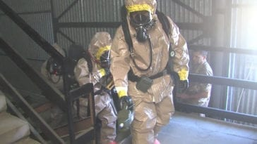 CBRN Exercise Toxic Dragon in Rieti, Italy