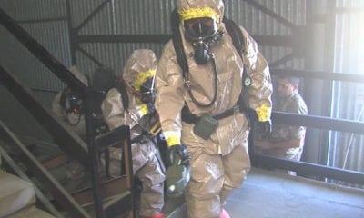 CBRN Exercise Toxic Dragon in Rieti, Italy