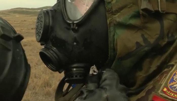Czech and Spanish CBRN Troop Exercise