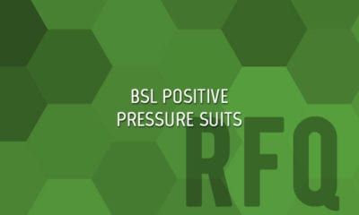 BSL Positive Pressure Suits