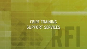 CBIRF Training Support Services