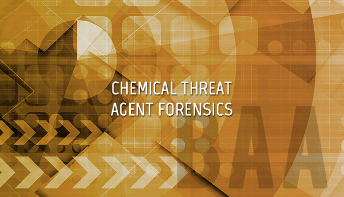 Chemical Threat Agent Forensics