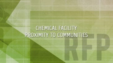Chemical Facilities in Close Proximity to Communities