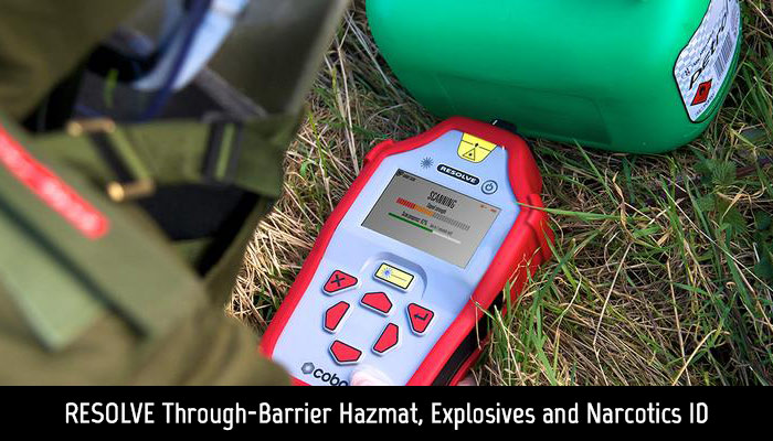 Cobalt Light Systems Resolve Hazmat EOD and Narcotics ID
