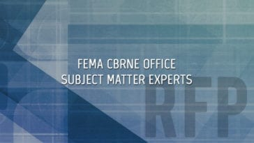 FEMA CBRNE Office Subject Matter Experts
