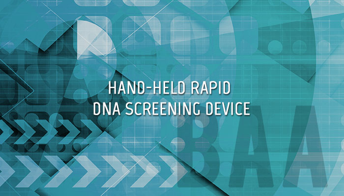 Handheld Rapid DNA Screening Device