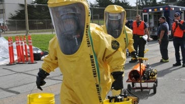 95th Civil Support Team participate in a HAZMAT Exercise