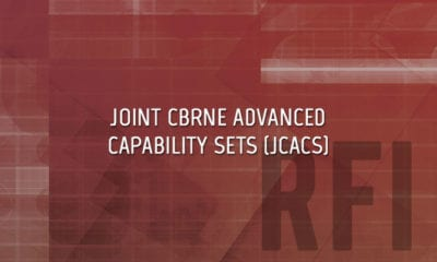 JCACS Joint CBRNE Advanced Capability Sets RFI