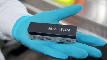 MinION Nanopore Sequencer