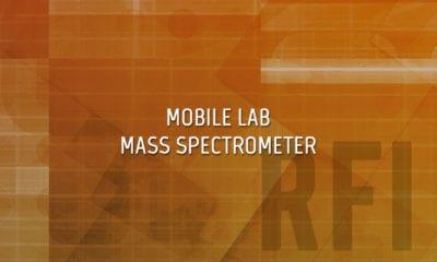 Mobile Lab Mass Spectrometer