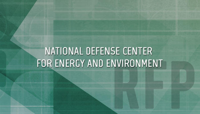 National Defense Center for Energy and Environment
