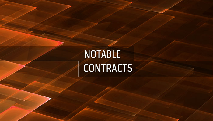 CBRN Notable Contracts