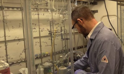 ORNL's Carter Abney Researches Uranium Extraction from Seawater