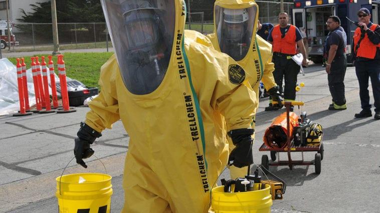 Presidio of Monterey Hazmat Exercise with Civilian and Hazmat Responders