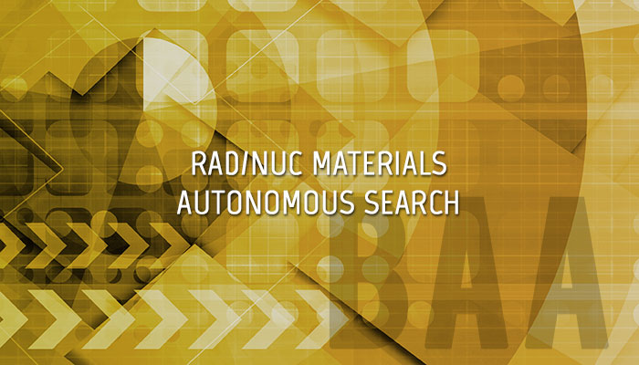 Radiological and Nuclear Material Search