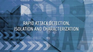 RADICS Rapid Attack Detection, Isolation and Characterization