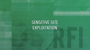 SOCOM Sensitive Site Exploitation Forensics