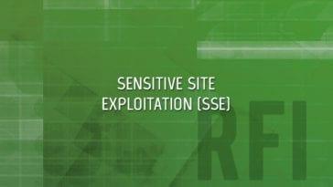 Sensitive Site Exploitation (SSE)