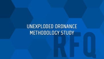 UXO Unexploded Ordnance Methodology