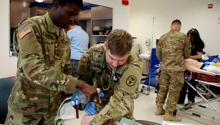 EMT Paramedic Training for Army Medics