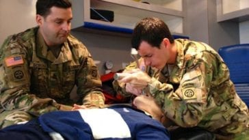 Army Medic EMT Paramedic Training