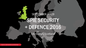 SPIE Security + Defence 2016