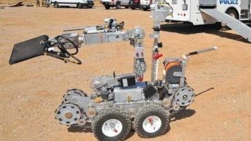 LANL Explosives Hazmat EOD Team Robot Rodeo
