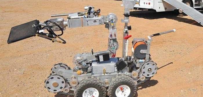 LANL Explosives Hazmat EOD Team Robot Rodeo