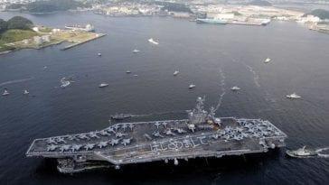 USS George Washington CVN 73 in Japan