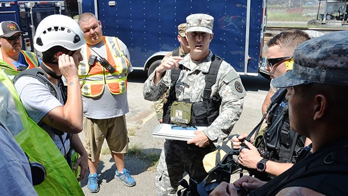 42nd WMD Civil Support Team and Local First Responder Exercise